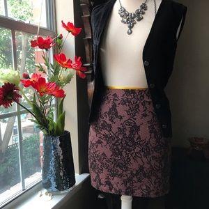 🔥Hot sexy lace print stretch miniskirt